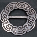 spiral (buckle for scarfs)