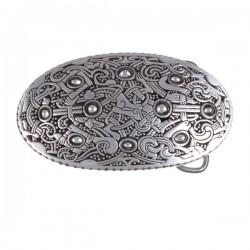 Buckle Viking oval