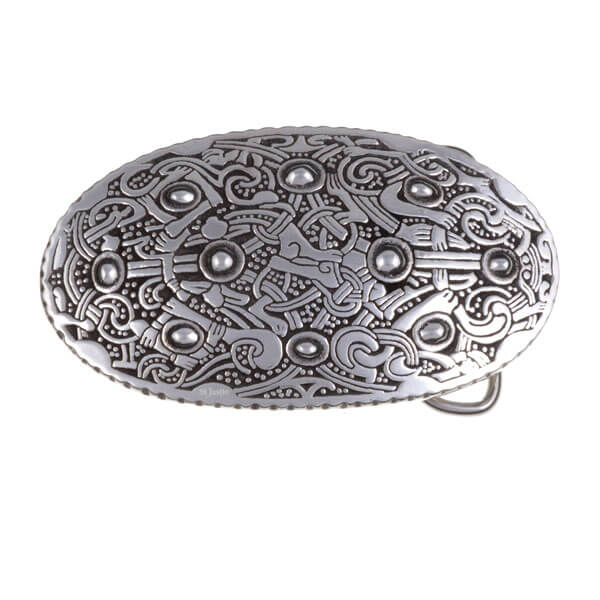Buckle Viking oval