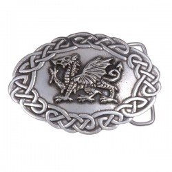 Welsh Dragon Buckle
