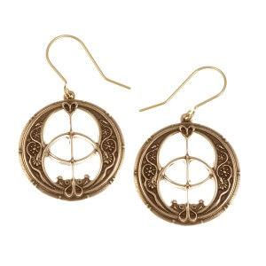 Chalice Well drop earrings