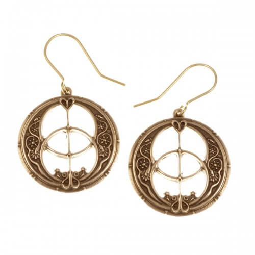 Chalice Well drop earrings