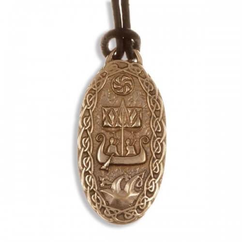 Travellers charm Bronzen hanger