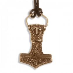 Thor amulet bronzen hanger