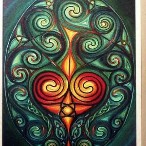 Druid's Egg wenskaart (CC23)