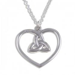 Heart Zilveren hanger
