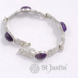 Oval stone Armband