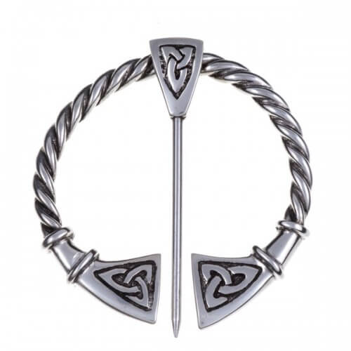 Large Celtic penannular Fibula