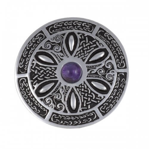 Celtic Wheel Broche PB55P