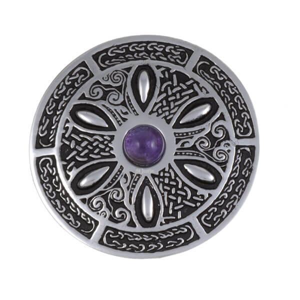 Celtic Wheel Broche