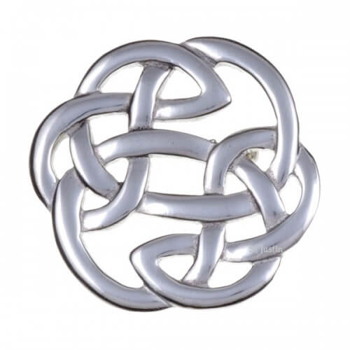 Brooch Lugh's knot small