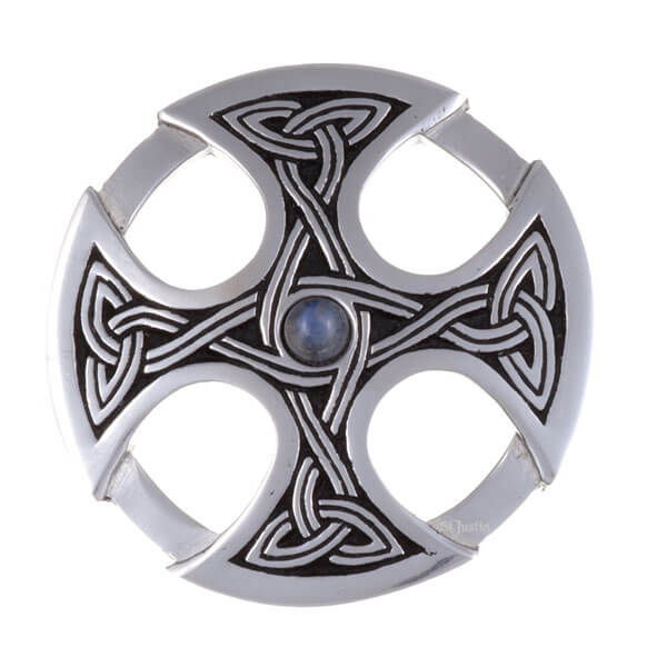 Nevern cross Broche