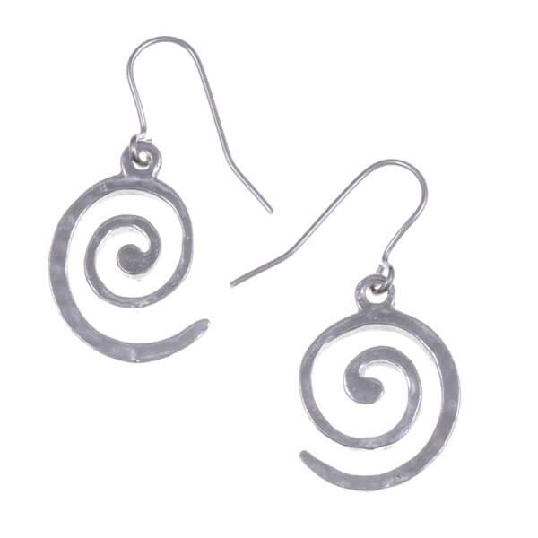 Spiral oorbellen