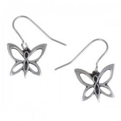 vlinder oorbellen (PE597)