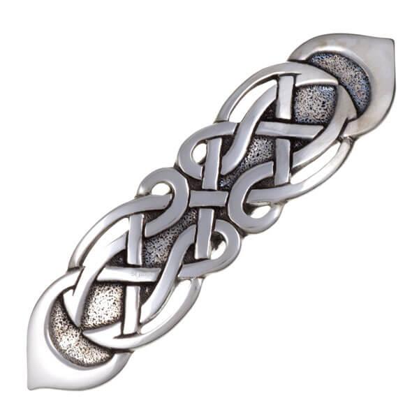 Figure eight haarspeld