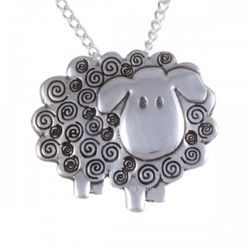 Swirly sheep hanger