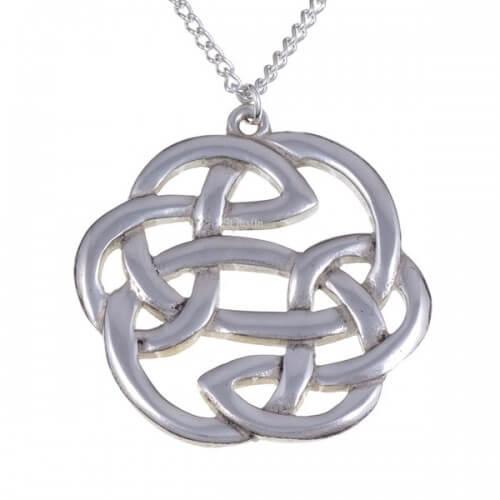 Celtic knots lugh's knot hanger