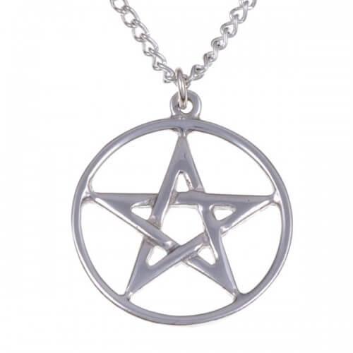 Pentagram circle hanger