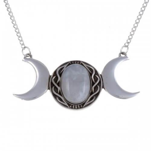Drievoudige maan hanger