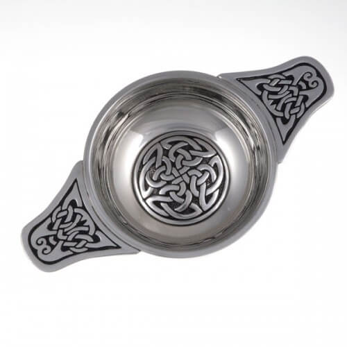 Interlace knot Quaich