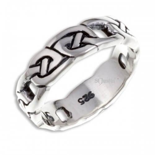 Four Knot Zilveren Ring (SR908)