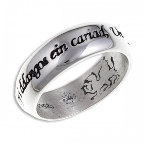 Welsh Love Ring (SR923)