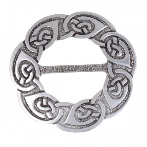 Endless knot large sjaal Slides