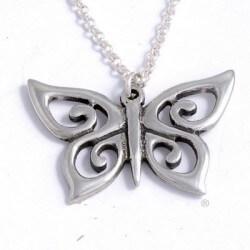 Spiral vlinder hanger