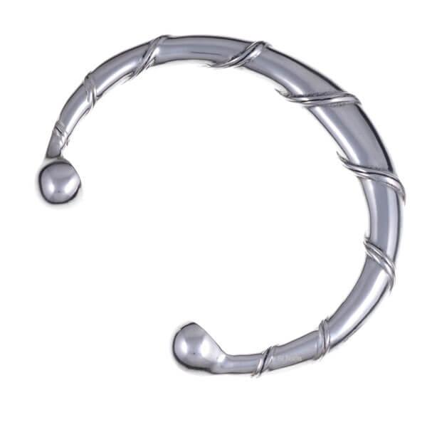 Spiral torc armband
