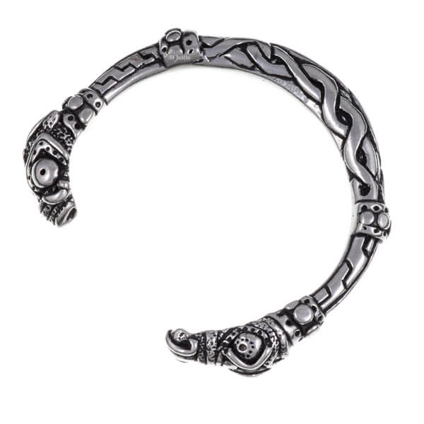 Armband slang hoofd
