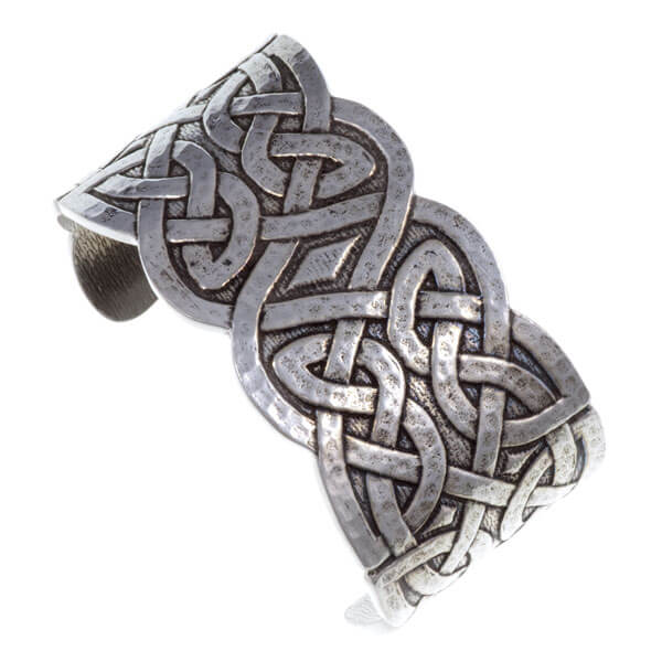 Keltische manchet armband