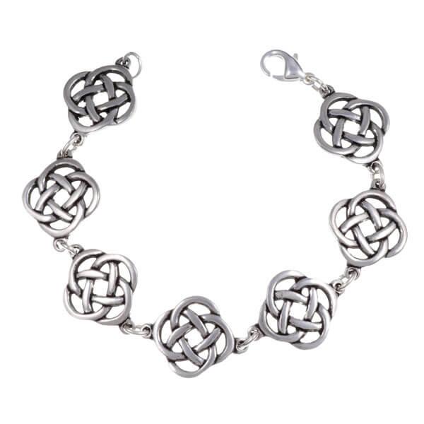 Square knot Armband