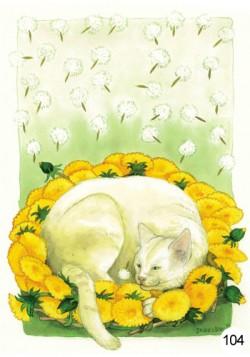 Postcards Inge Look inspiration of nature