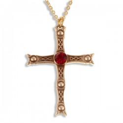 Schat van Staffordshire geïnspireerd bronzen Kruis
