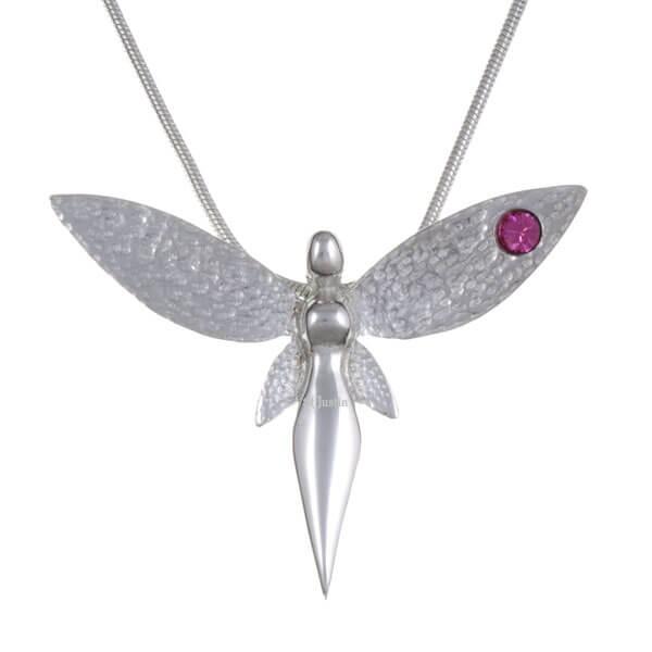 Fairy hanger met Roze kristal
