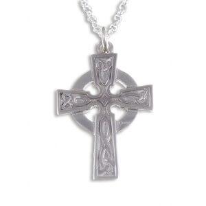 St Petroc zilveren kruis