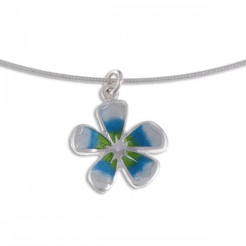 Fleur kleine zilveren hanger