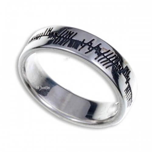 Ogham liefde ring