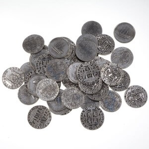 Set van 50 Pirate Coins