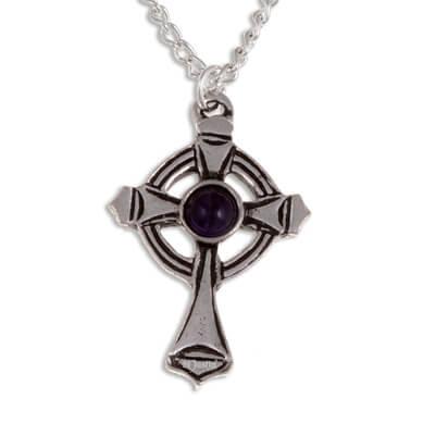 St Luke kruis met Amethys