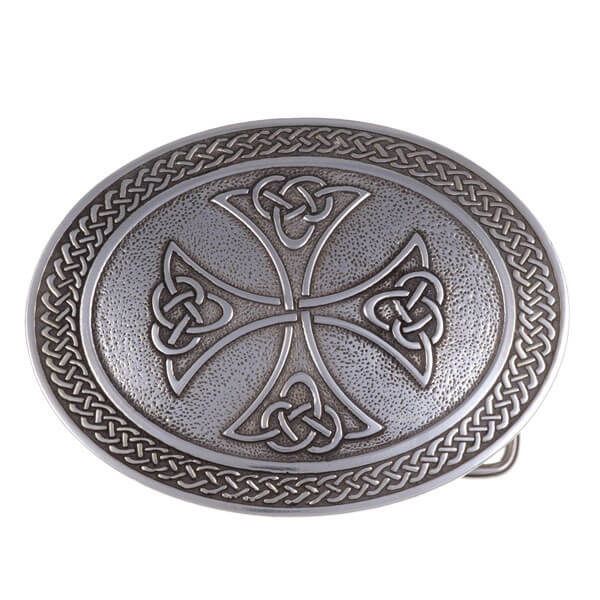 Border kruis belt buckle