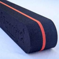 Backmitra zwart oranje
