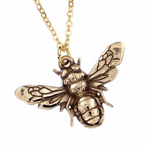 Bijen Bronzen hanger