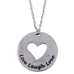 Live laugh love heart hanger,