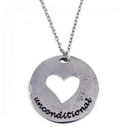 Hanger Unconditional love heart