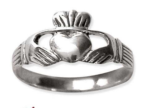 Claddagh Zilveren Ring