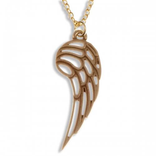 Engel vleugelBronzen hanger