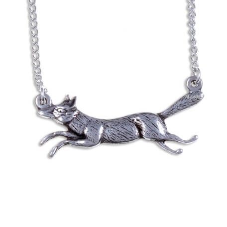 Lopende vos ketting