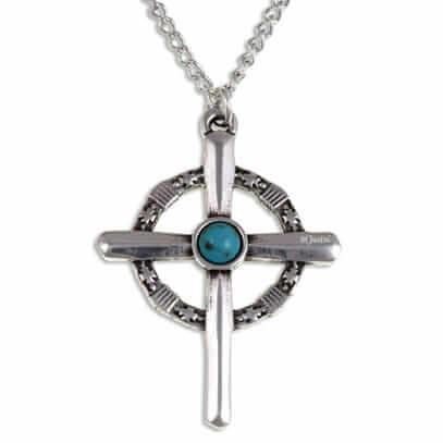 Robin van Locksley kruis met Turqoise steen
