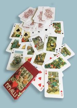 Inge Look speelkaarten rood